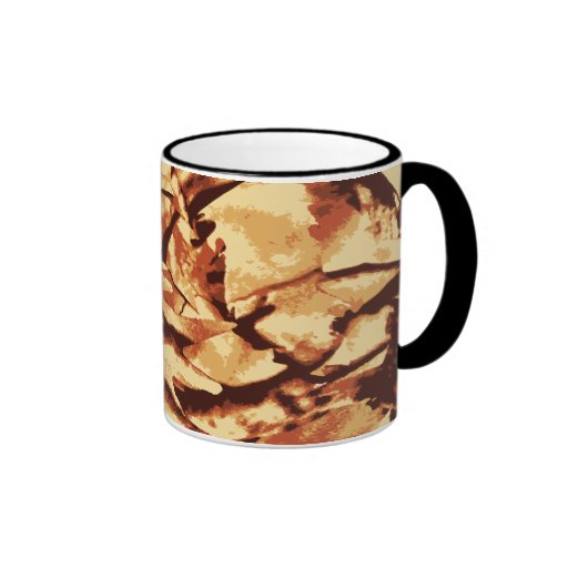 Brown Camo Camouflage Gifts for Hunters Mugs