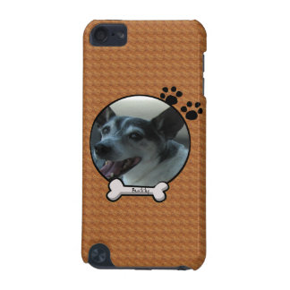 Brown Customizable Dog iPod Case