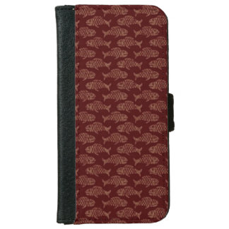 Brown Fish iPhone 6 Wallet Case