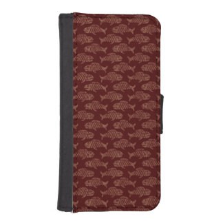 Brown Fish iPhone SE/5/5s Wallet Case
