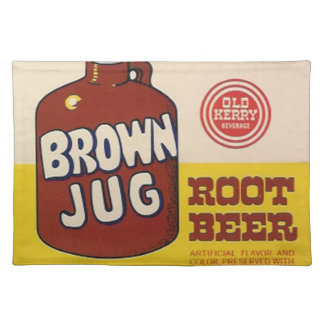 Brown Jug Root Beer Place Mat
