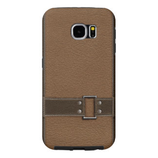 brown leather material textures samsung galaxy s6 cases