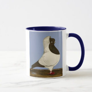 Brown Nun Pigeon Mug