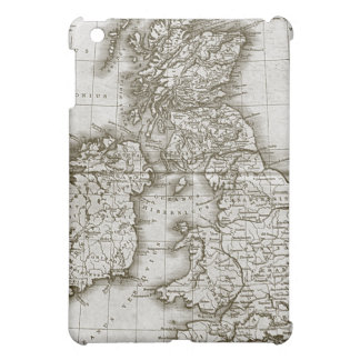 Brown Old World Antique Map ipad Case