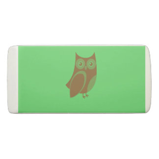 Brown Owl Eraser