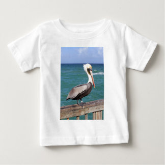 Brown Pelican Baby T-Shirt