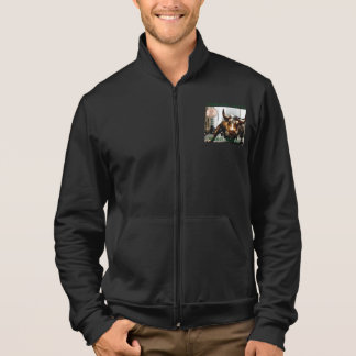 BROWN PENNY STOCKS SUPPORT JACKET