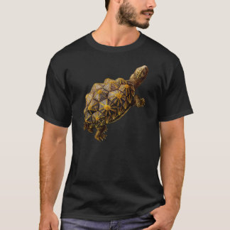 Brown Prehistoric Turtle T-Shirt