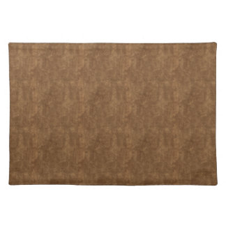Brown Rock With Flecks of Gold Placemat