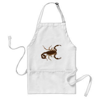 Brown Scorpion Standard Apron