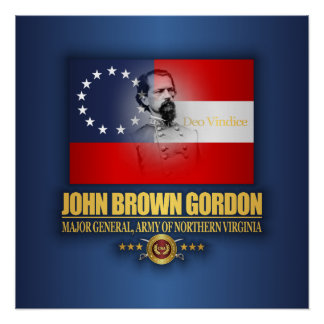 Brown (Southern Patriot) Poster