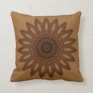Brown Southwestern Throw Pillow