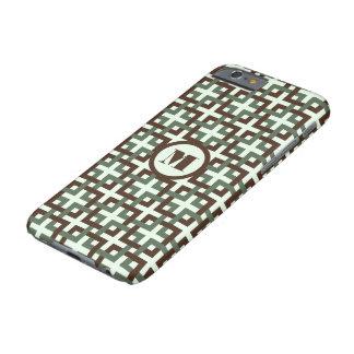 Brown Squares iPhone 6 Case
