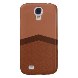 Brown texture point galaxy s4 case