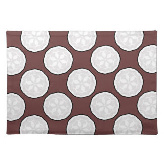 Brown & White Designer Placemat Gift