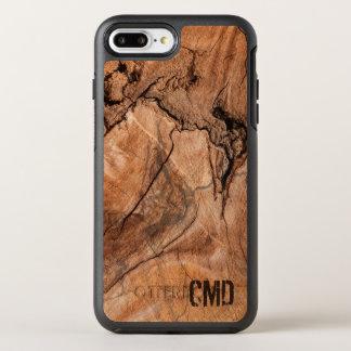 Brown Wood Knots OtterBox Symmetry iPhone 7 Plus Case