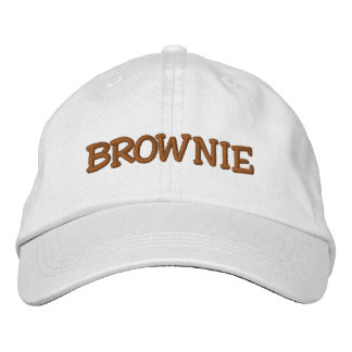 BROWNIE EMBROIDERED BASEBALL CAP