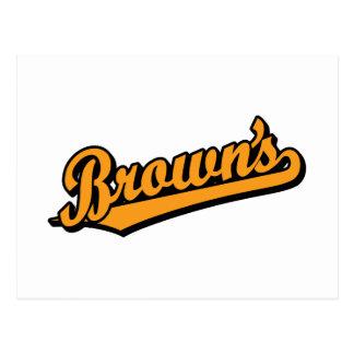 Brown's in Orange Postcards