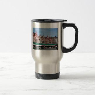Bruges market travel mug