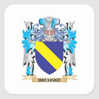 Bruhnke Coat of Arms Stickers
