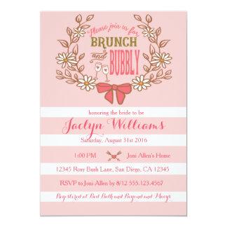 Brunch and Bubble Bridal Shower Invitation