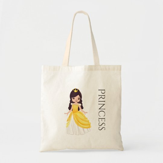 Brunette Princess Treat Bag