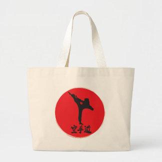 Brushed Karate Large Tote Bag