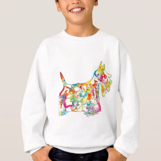 Brushfolks Scotties in A Scotty Sweatshirt