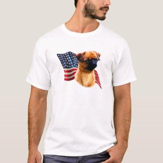 Brussels Griffon Flag T-Shirt