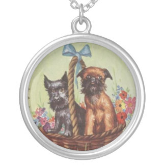 Brussels Griffon & Scottish Terrier Necklace