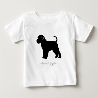 Brussels Griffon silhouette Baby T-Shirt
