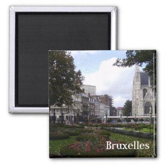Brussels Square Magnet