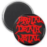 Brutal Death Metal Refrigerator Magnets