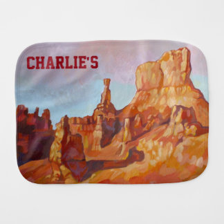 Bryce Canyon National Park Burp Cloths