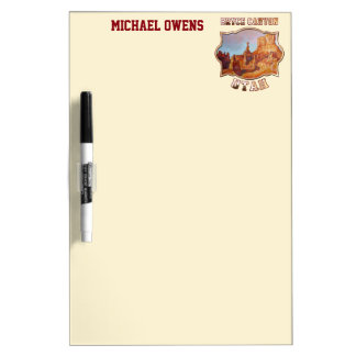 Bryce Canyon National Park Dry Erase Boards