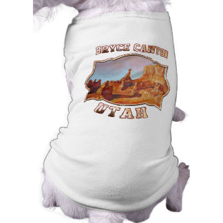 Bryce Canyon National Park Sleeveless Dog Shirt