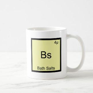 Bs - Bath Salts Funny Element Meme Chemistry Tee Basic White Mug