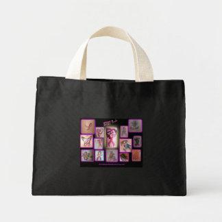 BtBt Ink Inspirational Breast Cancer Tattoos Mini Tote Bag