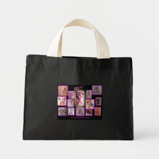 BtBt Ink Inspirational Breast Cancer Tattoos Mini Tote Bag