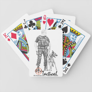 BTJ Tactical Gear Poker Deck