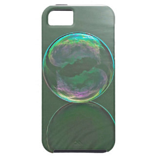 Bubble floating on water iPhone 5 case