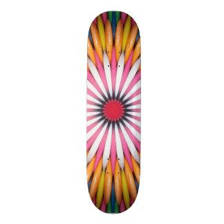 Bubble Gum Digital Art Skateboard