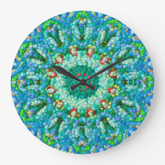 Bubble-Mosaic Clock I