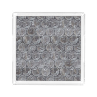 Bubble wrap tray