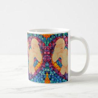Bubbles art design mug