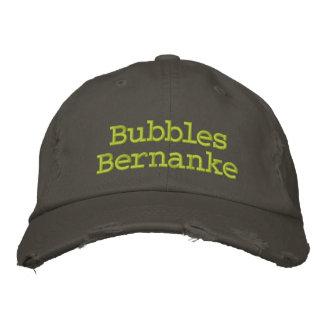 Bubbles Bernanke Baseball Cap