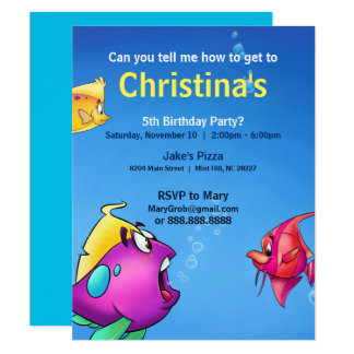 Bubble's Birthday Card 11 Cm X 14 Cm Invitation Card