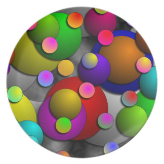 Bubbles by Kenneth Yoncich Plate