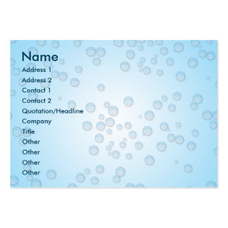 Bubbles Chubby Pack Of Chubby Business Cards