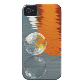 Bubbles Reflecting in Water iPhone 4 Case-Mate Cases
